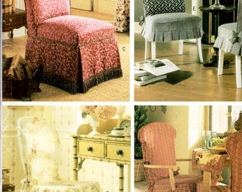 McCall's P456 Chair Covers Sewing Pattern New Uncut