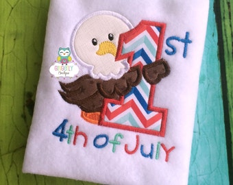 First 4th of July Shirt or Bodysuit, Baby's First Holiday, Baby's First 4th of July, 4th of July, Babies First 4th of July