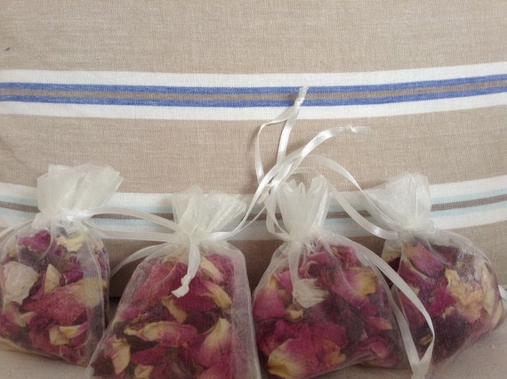 Dried Real Rose Petal Wedding Confetti Pinks Biodegradable