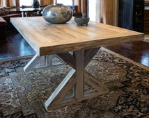 The Glacier Dinning Table - Handcrafted from Recycled Beetle Kill Wood