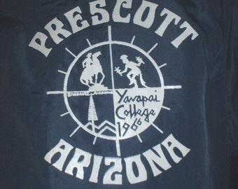 Vintage 1960s-1970s Yavapai College windbreaker size extra-small, Prescott Arizona