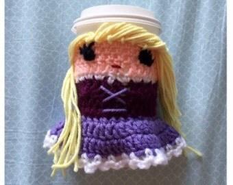 Rapunzel Coffee Cozy - Rapunzel Coffee Cup Warmer