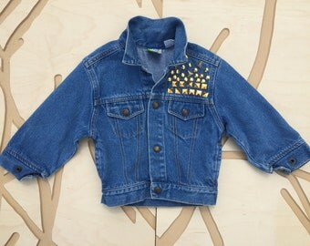 Toddler Studded Jean Jacket