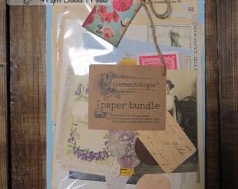 FREE SHIPPING!! Vintage Paper Bundle- 1 Pound- Great Assortment