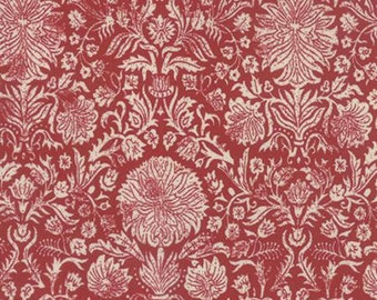 Joyeux Noel - Couronne Red - 1/2yd
