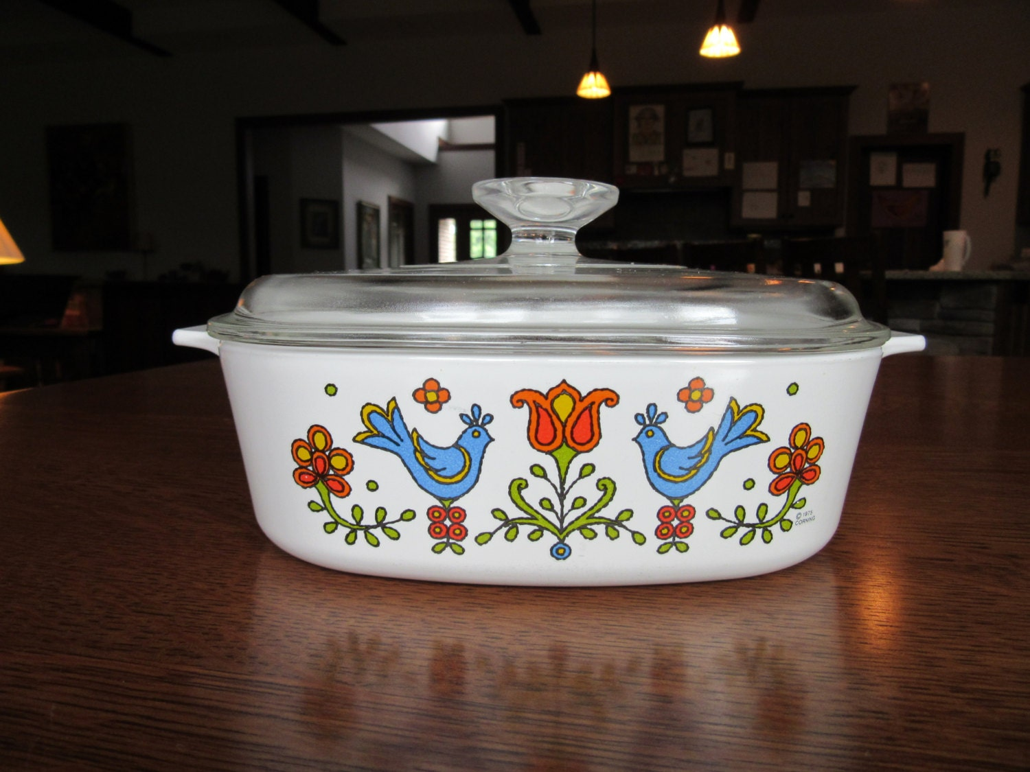 Corning Ware Country Festival A 2 B Casserole Pyrex A 9 C