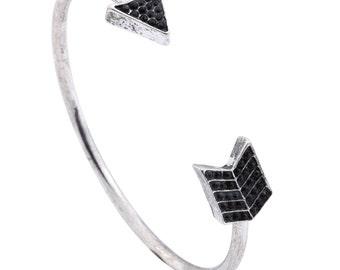 Silver Arrow Bracelet Bangle