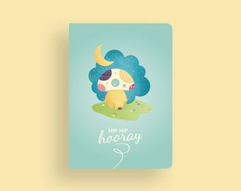 Birthday Card • My little Sunshine by Celebratink • Greeting Card • Mushroom • Toadstool • Flowers