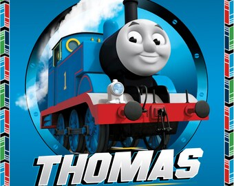 Thomas the Train Fabric Panel From Quilting Treasures