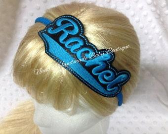 Rachel Headband Slip On  - DIGITAL EMBROIDERY DESIGN