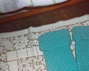 Crocheted Tube Socks