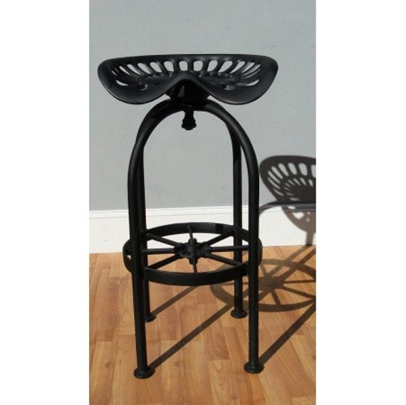 Best Tractor Bar Stool Seating With Foot Rest Aluminum Wagon