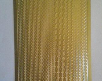 Starform gold borders stickers 1001gg