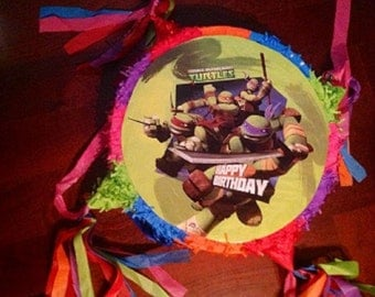 Teenage Mutant Ninja Turtles Party Pinata Turtles Party Supplies Free Ship
