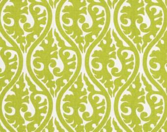 1.5 yards Premier Prints Kimono Chartreuse/White