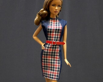Dolls dress for Fashion royalty,FR,Silkstone,intage barbie-No.923
