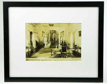 Photograph of a beautiful interior scene in a Hollywood House-circa 1910s-Rare