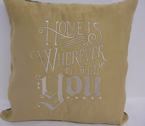 Wedding Anniversary Gift For Dad : Anniversary Gift, Wedding Pillow, Gift for Dad, Custom Embroidered ...