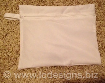 Waterproof Wet Bag for Cloth Diapering