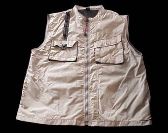 Men's AMAX Hunting/Shooting Kaki VEST New Vintage Size XL
