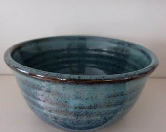 Turquoise green bowl.