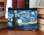 Vincent Van Gogh Starry Night Small Coin Purse Great Gift Sherlock Holmes