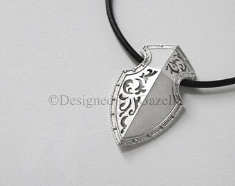 European Shield Necklace
