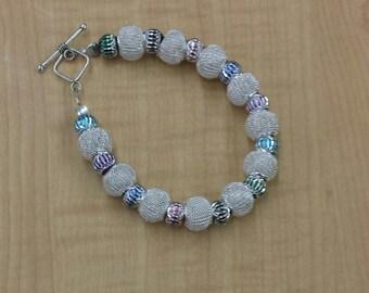 Sparkling Silver Bracelet