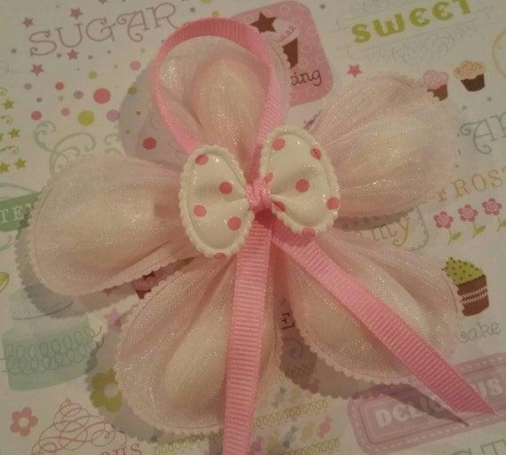 Floral Baby Shower Favors ~ Confetti flower baby shower favor jordan almond minnie