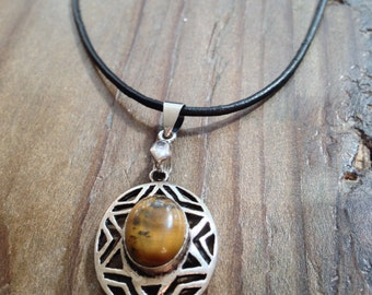 Tiger Eye Balance and Stability Amulet