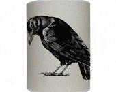 Crow shade/ lamp shade/ ceiling shade/ drum lampshade/ lighting
