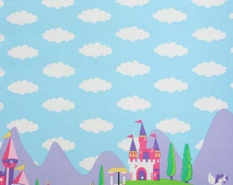 Princess Charming - Michael Miller - Border Fabric