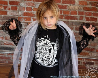 T4 or T6 Children's Nickelfarthing Steampunk T-Shirt