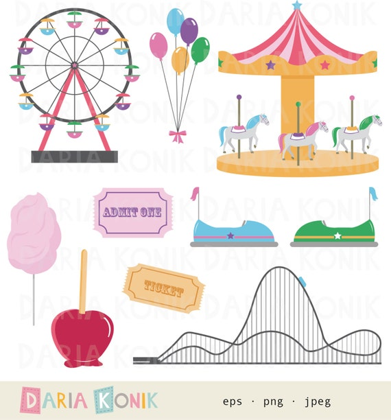 Carnival Theme Invitation for amazing invitation design