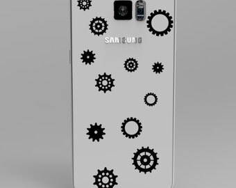 Gears Phone Decal