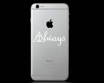 Deathly Hallows Always (Harry Potter) Phone Decal