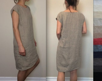 Linen Tunic / T-Shirt Dress