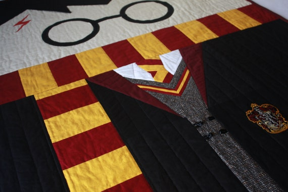 Harry Potter Baby Quiltharry Potter By Bedhogshop On Etsy