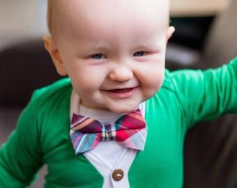 Baby Boy Cardigan and Bow Tie,Cardigan , Newborn Cardigan , Baby Boy Cardigan