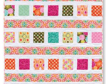 Shuffled Charms Quilt Pattern by Sweet & Simple