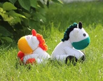 Amigurumi unicorn handmade