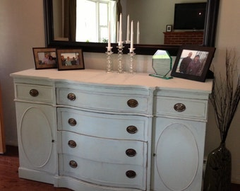 SOLD Antique Drexel Buffet Dresser