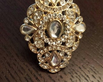 Stunning Vintage Ring, one size fits all