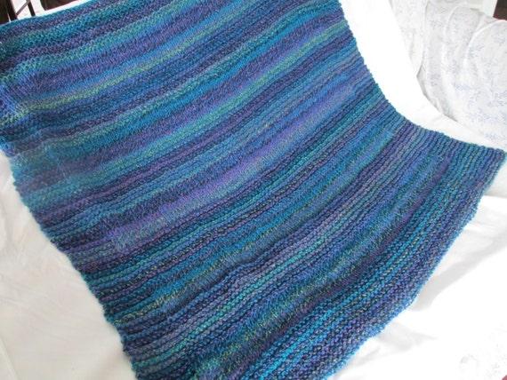 Knitting Pattern For Lap Blanket : Marble Lap Blanket Knit Lap Blanket Chunky Knit Lap Blanket