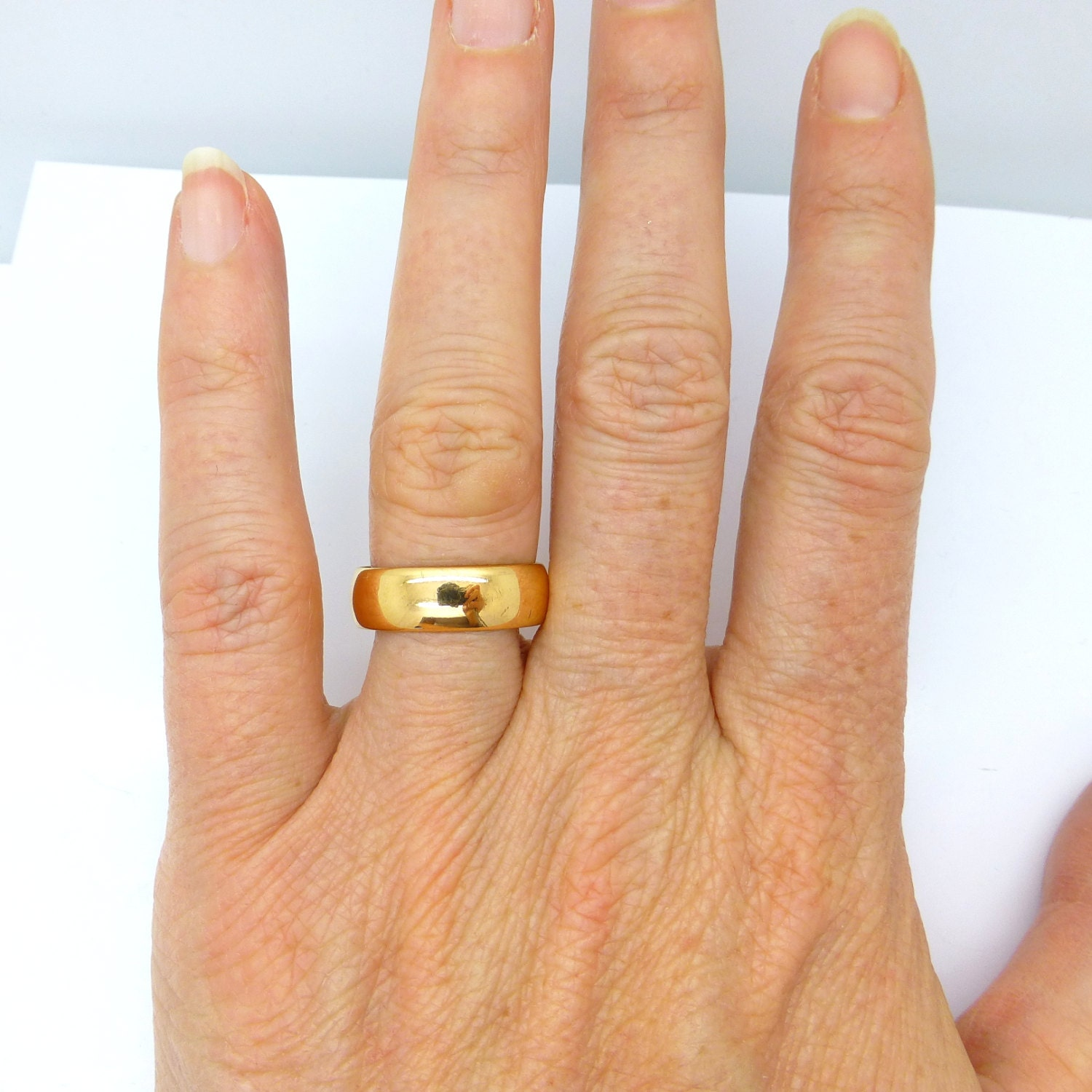 Gold Ring Band Broke