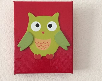 Owl wall decor