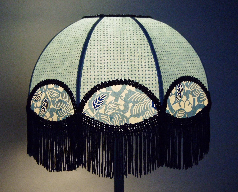 lampe de chevet boh me et romantique en papier japonais. Black Bedroom Furniture Sets. Home Design Ideas