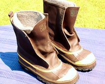 Vintage LaCrosse Men's Size 7 De-Icer Steel Shank Insulated Heavy Duty Boots - Made in USA