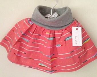 Arrow twirly skirt