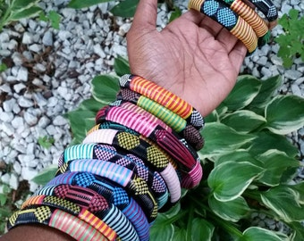 Woven African Bangles(set of 3)